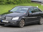 2011 Mercedes-Benz C-Class facelift spy shots