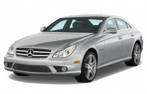 2011 Mercedes-Benz CLS Class 4-door Sedan 6.3L AMG Angular Front Exterior View