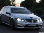 2011 Mercedes-Benz E63 AMG Estate spy shots