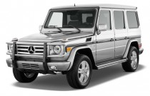 2011 Mercedes-Benz G Class 4MATIC 4-door 5.5L Angular Front Exterior View