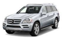 2011 Mercedes-Benz GL Class 4MATIC 4-door 4.6L Angular Front Exterior View
