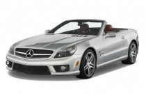 2011 Mercedes-Benz SL Class 2-door Roadster 6.0L AMG Angular Front Exterior View