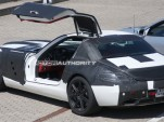 2011 Mercedes Benz SLS AMG 'Gullwing'  spy shots