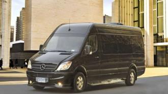 Brilliant Mercedes-Benz Sprinter Van Exterior