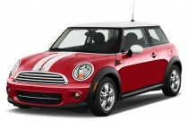 2011 MINI Cooper 2-door Coupe Angular Front Exterior View