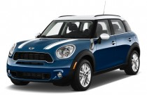 2011 MINI Cooper Countryman FWD 4-door S Angular Front Exterior View