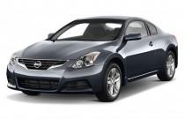2011 Nissan Altima 2-door Coupe I4 CVT 2.5 S Angular Front Exterior View