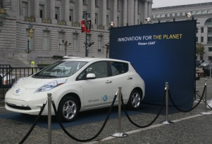2011 Nissan Leaf Laurels: Euro Car of the Year, U.S. Cell Plant Underway