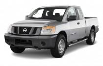 2011 Nissan Titan 4WD King Cab SWB SV Angular Front Exterior View