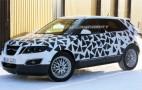 Spy shots: 2010 Saab 9-4X up close