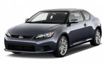 2011 Scion tC 2-door HB Man (Natl) Angular Front Exterior View