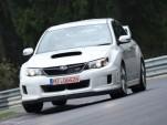 2011 Subaru Impreza WRX STI at the Nurburgring