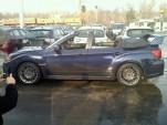 2011 Subaru WRX STI custom convertible