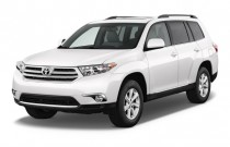 2011 Toyota Highlander FWD 4-door V6 SE (Natl) Angular Front Exterior View