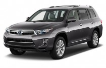 2011 Toyota Highlander Hybrid 4WD 4-door Limited (Natl) Angular Front Exterior View