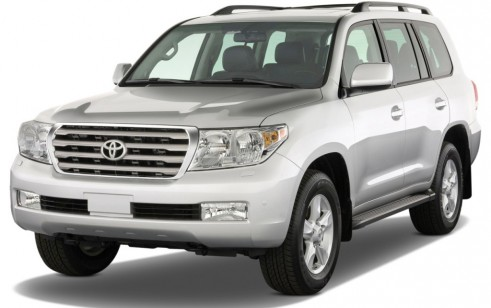 2011 Toyota Land Cruiser 4-door 4WD (GS) Angular Front Exterior View