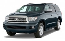 2011 Toyota Sequoia 4WD LV8 6-Spd AT Ltd (GS) Angular Front Exterior View