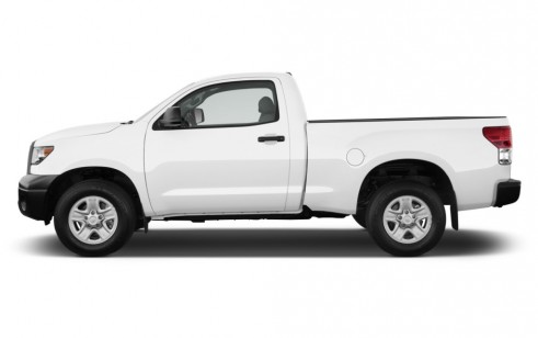 2011 Toyota Tundra Side Exterior View