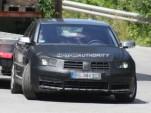 2011 Volkswagen Phaeton facelift spy shots
