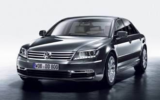 New 2011 Volkswagen Phaeton Breaks Cover