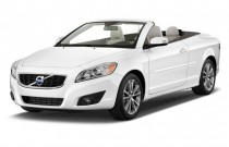 2011 Volvo C70 2-door Convertible Auto Angular Front Exterior View