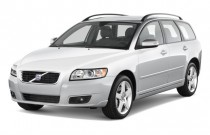 2011 Volvo V50 4-door Wagon Angular Front Exterior View