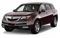 2012 Acura MDX AWD 4-door Advance Pkg Angular Front Exterior View