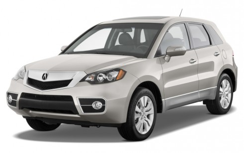 2012 Acura RDX AWD 4-door Tech Pkg Angular Front Exterior View
