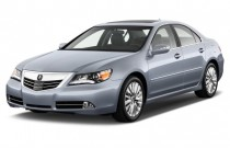 2012 Acura RL 4-door Sedan Advance Pkg Angular Front Exterior View