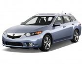 2012 Acura TSX 5dr Sport Wagon I4 Auto Tech Pkg Angular Front Exterior View
