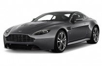 2012 Aston Martin V12 Vantage 2-door Coupe Man Angular Front Exterior View