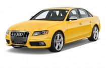 2012 Audi S4 4-door Sedan S Tronic Premium Plus Angular Front Exterior View