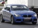 2012 BMW 1-Series Hatchback M Performance Spy Shots