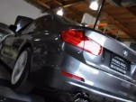 2012 BMW 328i on the dyno. Captured from video via Bimmerpost/F30 Post.