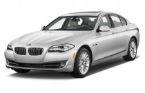 2012 BMW 5-Series 4-door Sedan ActiveHybrid 5 RWD Angular Front Exterior View