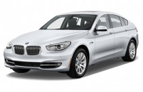 2012 BMW 5-Series Gran Turismo 4-door Sedan 550i Gran Turismo RWD Angular Front Exterior View