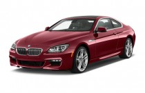2012 BMW 6-Series 2-door Coupe 640i Angular Front Exterior View