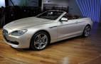 2011 Detroit Auto Show: 2012 BMW 6-Series Convertible Live Photos