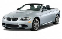 2012 BMW M3 2-door Convertible Angular Front Exterior View