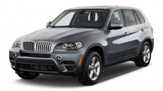 2012 BMW X5 AWD 4-door 50i Angular Front Exterior View