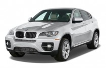 2012 BMW X6 AWD 4-door 35i Angular Front Exterior View