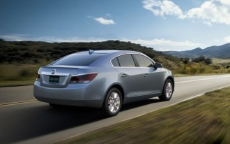 2012 Buick LaCrosse To Benefit From GM's Improved V-6