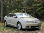 2012 Buick Lacrosse with eAssist, Catskill Mountains, October 2011