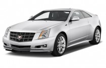 2012 Cadillac CTS 2-door Coupe Premium RWD Angular Front Exterior View