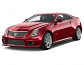 2012 Cadillac CTS-V Coupe 2-door Coupe Angular Front Exterior View