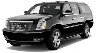 2012 Cadillac Escalade ESV 2WD 4-door Base Angular Front Exterior View