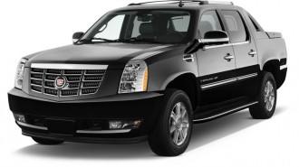 2012 Cadillac Escalade EXT AWD 4-door Base Angular Front Exterior View