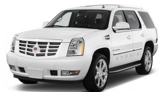 2012 Cadillac Escalade Hybrid 2WD 4-door Angular Front Exterior View