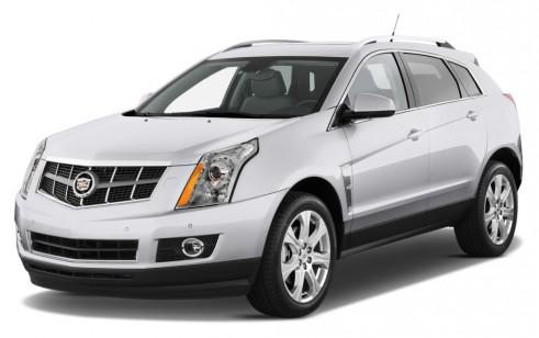 2012 Cadillac SRX FWD 4-door Performance Collection Angular Front Exterior View