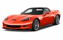 2012 Chevrolet Corvette 2-door Coupe Z06 w/1LZ Angular Front Exterior View